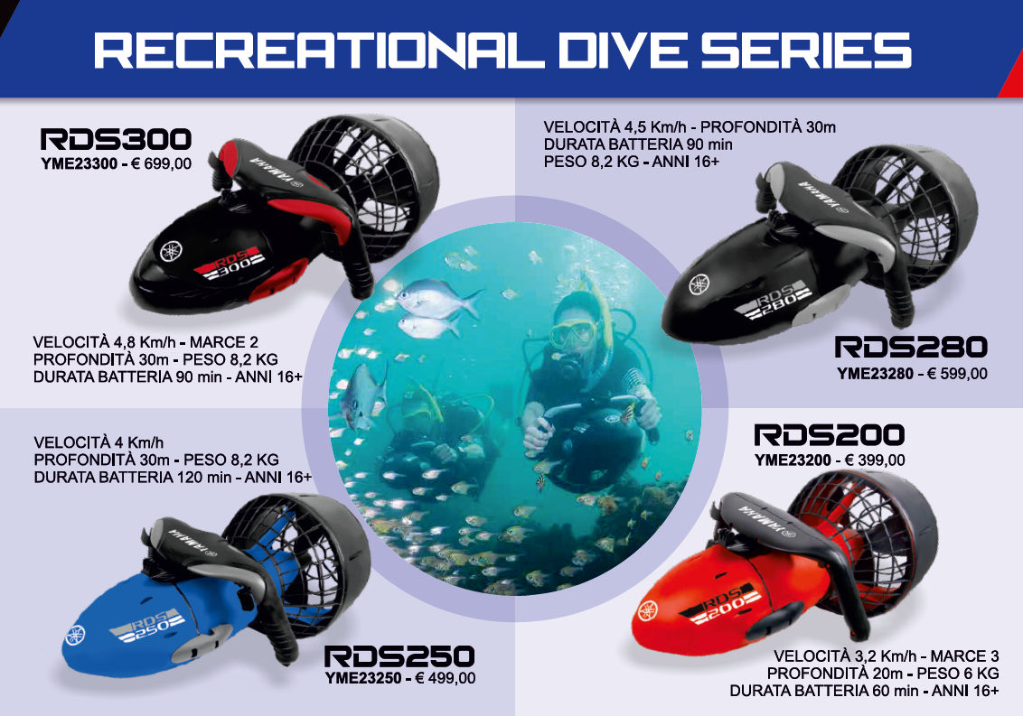 yamaha recreational dive